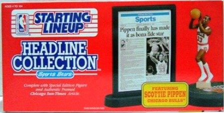 1992 - Scottie Pippen - Action Figures - Starting Lineups - Headline - Basketball - Bulls