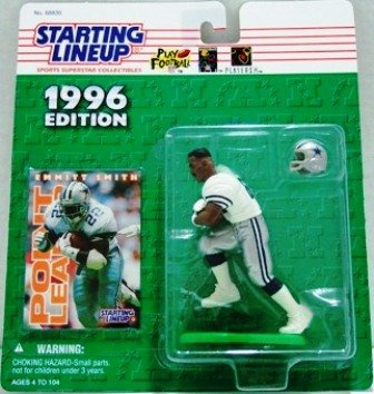 1996 - Emmitt Smith - Action Figures - Starting Lineups - Football - Cowboys