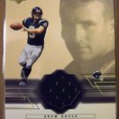 2001 Dree Brees Upper Deck Rookie Game Worn Jersey