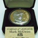 1998 - The Highland Mint - Mark McGwire - Silver/Gold - Mint Coin
