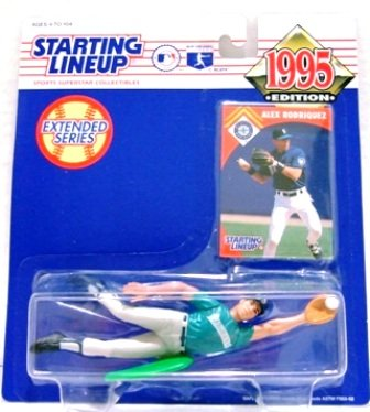 1995 - Alex Rodriguez - Starting Lineups - Extended Baseball - Mariners - Rookie Slu