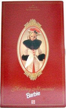 1995 Hallmark Holiday Memories Special Edition Barbie Doll