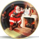 The Franklin Mint - Coca-Cola - The Pause That Refreshes - Collectors Plate