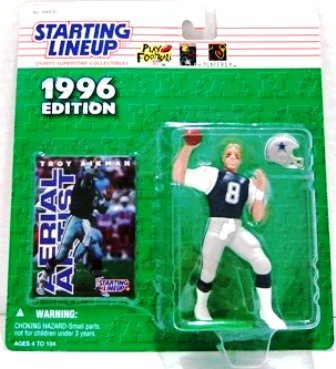 1996 - Troy Aikman -Action Figures - Starting Lineups - Football - Cowboys