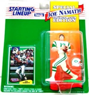 Joe Namath - Action Figures - Starting Lineups - Kenner Club - Football - Jets