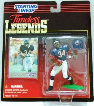 1995 - Walter Payton - Action Figures - Starting Lineups - Legends - Football
