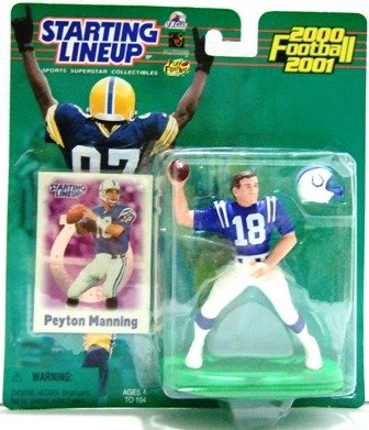 2000 - Peyton Manning - Action Figures - Starting Lineups - Football - Colts