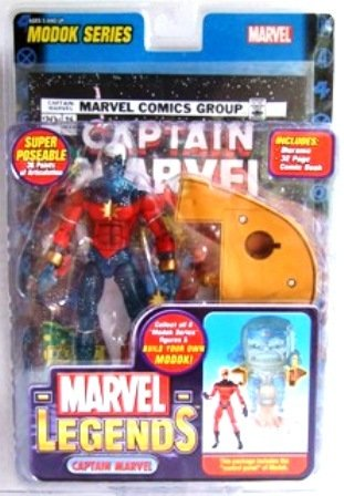 2006 - Captain Marvel - Genis Vell (Variant) - Toy Biz -  Marvel Legends