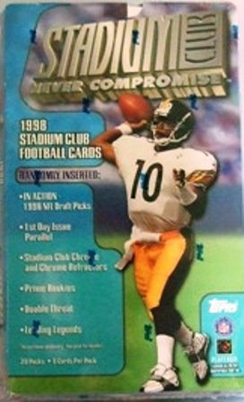 1998 - Stadium Club - NFL Football - Trading Cards