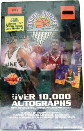 1997 - Wheels - Rookie Thunder - Draft Pick - Basketball Cards