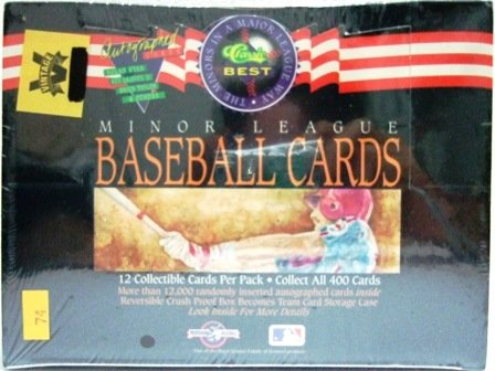 1992 -  Classic -  Best - Minor League - Baseball Cards