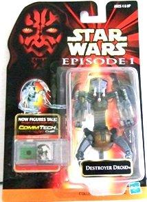 1998 - Destroyer Droid - Action Figure - Hasbro -  Star Wars -  Episode I - The Phantom Menace
