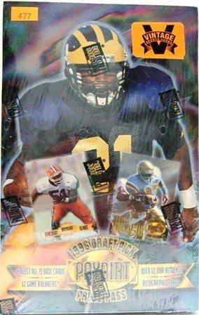 1996 - Press Pass - Draft Pick - Paydirt - Football