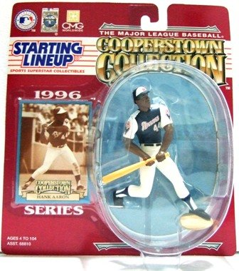 1996 - Hank Arron - Action Figures - Starting Lineups - Cooperstown - Baseball - Braves