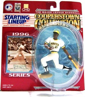 1996 - Roberto Clemente - Action Figures - Starting Lineups - Cooperstown - Baseball - Pirates