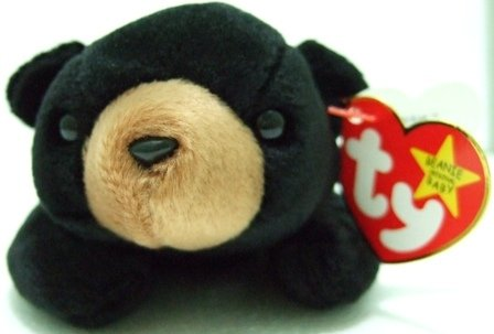 The Original Ty - Beanie Baby - Blackie - Plush Toys
