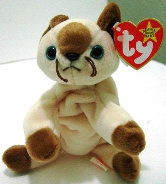 The Original Ty - Beanie Babies - Snip - Kitty Cat - Plush Toys