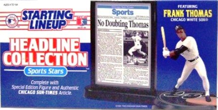 1993 - Frank Thomas - Action Figures - Starting Lineups - Headliner - Baseball - White Sox