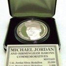 1994 - Enviromint - Michael Jordan - Baseball - Barons - Silver Coin