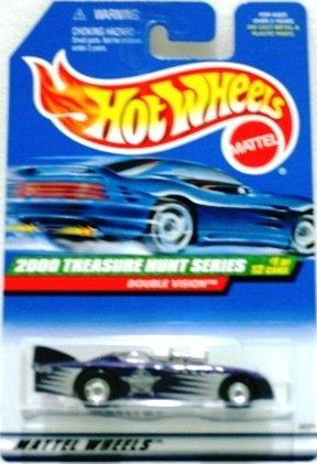 2000 - Double Vision - Mattel - Hot Wheels - Treasure Hunts - #1 of 12