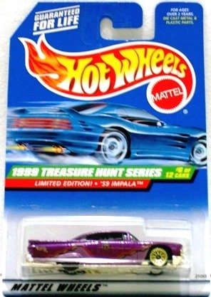 1999 - 59 Impala - Mattel - Hot Wheels - Treasure Hunts - #6 of 12