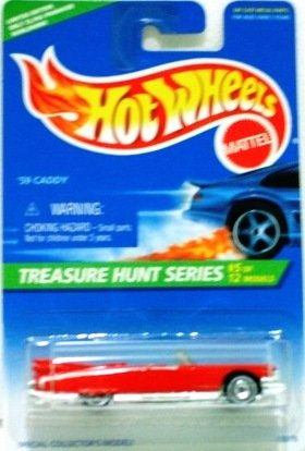 1996 - 59 Caddy - Hot Wheels - Treasure Hunts - #5 of 12