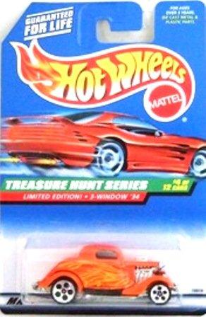 1998 - 3-Window 34 - Hot Wheels - Treasure Hunts - #4 0f 12
