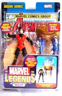 2006 - Wasp (Variant) - Action Figures - Toy Biz -  Marvel Legends