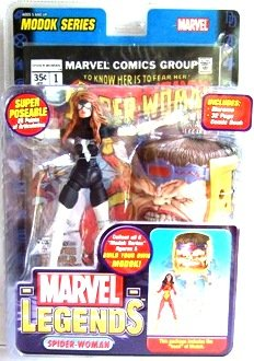 2006 - Spider-Woman (Variant) - Action Figures - Toy Biz - Marvel Legends