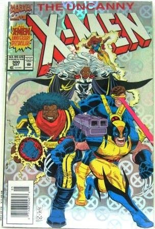 1993 - Marvel - The Uncanny - X-Men - Anniversary Edition #300th Issue - Comic Books