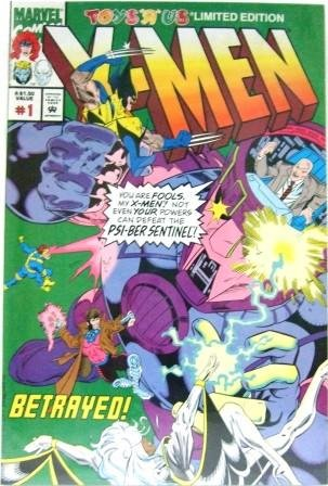 1993 - Toy's R Us - #1 Limited Edition X-Men - Comic Books