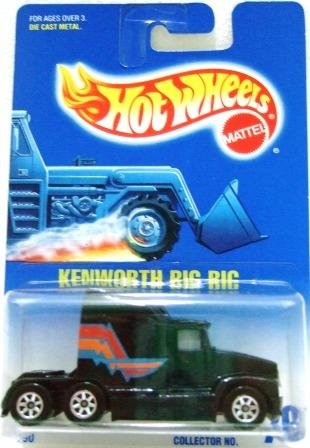 1991 - Kenworth Big Rig - Mattel - Hot Wheels - Collectors #76