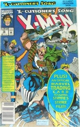 1992 - Marvel -  X-Men - X-Cutioner's Song -  Part 11 - Comic Books