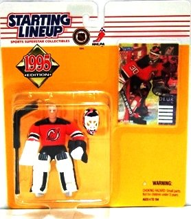 1995 - Martin Brodeur - Action Figures - Starting Lineups - Hockey - Devils - Rookie Slu
