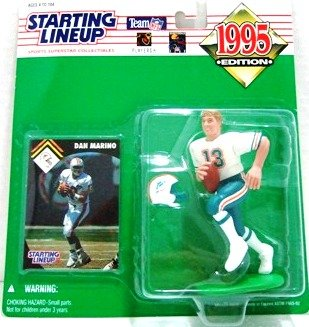 1995 - Dan Marino - Action Figures - Starting Lineups - Football - Dolphins