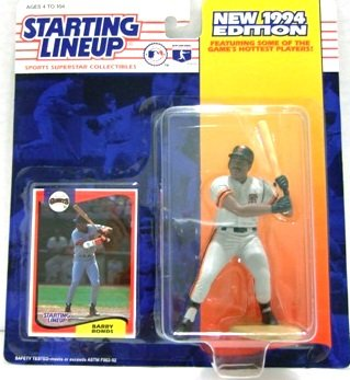 1994 - Barry Bonds - Action Figures - Starting Lineups - Baseball - Giants