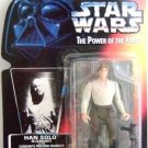 1996 - Han Solo - Action Figure - Star Wars - The Power of The Force - Red Card