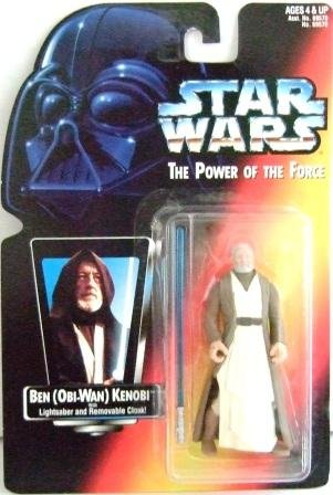1995 - Ben Obi Wan Kenobi - Action Figure - Star Wars - The Power of the Force - Red Card