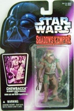 1996 - Chewbacca - Action Figures - Star Wars - Shadow of the Empire