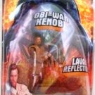 2005 - Obi Wan Kenobi - Lava Reflection - Star Wars - Target Exclusive - Revenge of the Sith