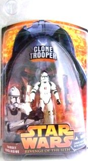 2005 - Clone Trooper - Lava Reflection - Star Wars - Target Exclusive - Revenge of the Sith