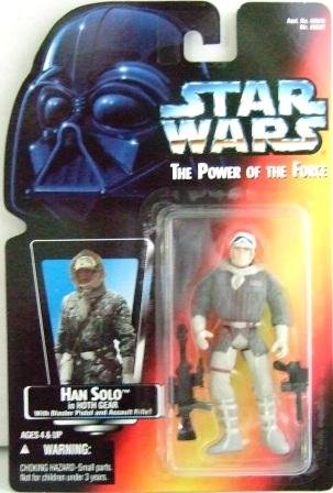 1995 - Han Solo - Action Figures - Star Wars - The Power of the Force - Red Card