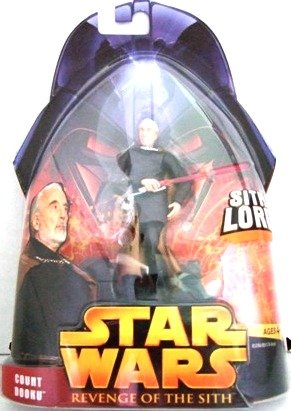 2006 - Count Dooku #13 - Sith Lord - Action Figure Star Wars - Episode III -  Revenge of the Sith