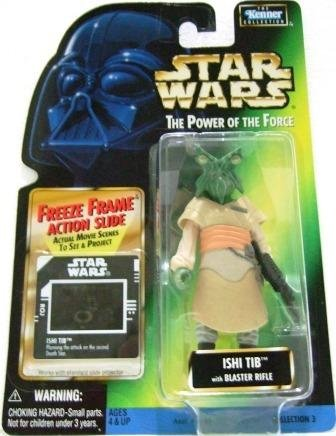 1997 - Ishi Tib - Action Figures - Star Wars - The Power of the Force - Freeze Frame
