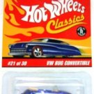 2005 - VW Bug Convertible - Hot Wheels Classics - Series 2 - #21 of 30