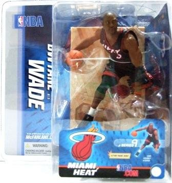 2005 - Dwayne Wade - Sports Action Figure - McFarlane's - Heat - Basketball