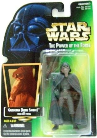 1995 - Garindan (Long Snoot) - Action Figures - Star Wars - The Power Of The Force - Green Card
