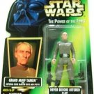 1996 - Grand Moff Tarkin - Action Figures - Star Wars - The Power of the Force - Green Card