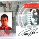 Reed Sorenson - 2007 - Press Pass - Stealth - Maximum Access