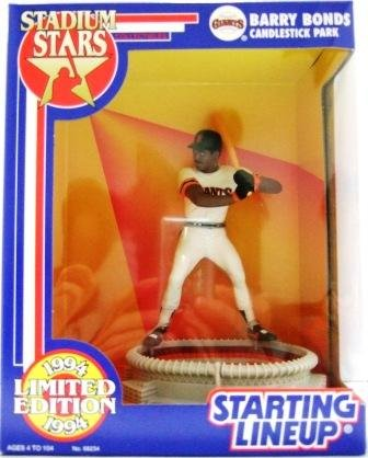 1994 - Barry Bonds - Action Figures - Starting Lineups - Stadium Stars - Giants